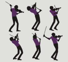 Purple Shirt of Violin
