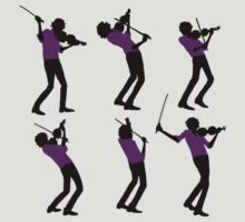 Purple Shirt of Violin by ftwyn