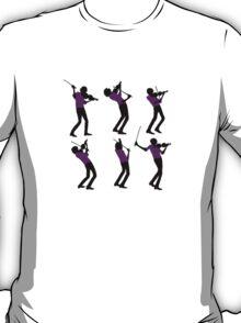 Purple Shirt of Violin T-Shirt