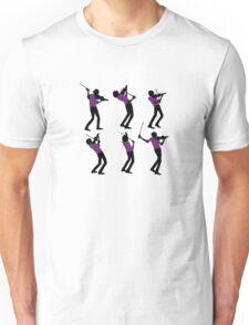 Purple Shirt of Violin Unisex T-Shirt