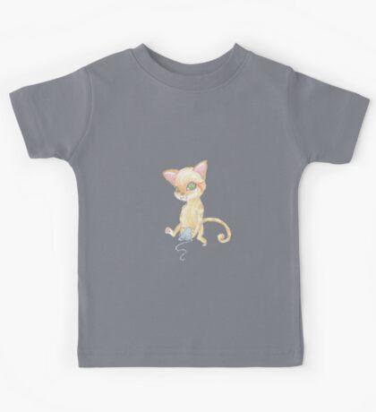 kitten and yarn Kids Tee
