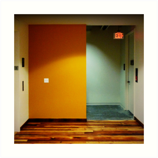 Yellow Exit by Robert Baker