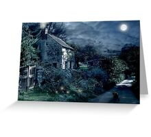 The Witches House Greeting Card