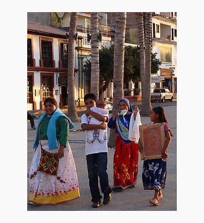 Huichol At The Malecon - Huichol En El Malecon Photographic Print