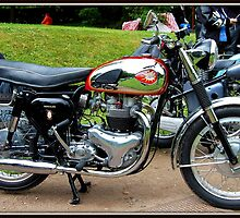 B.S.A. A10 SUPER ROCKET. 650 TWIN (1957-63)  by ronsaunders47