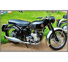VELOCETTE VENOM. 500CC SINGLE. Photographic Print