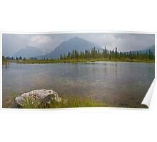 Over Vermillion Lake Poster