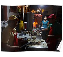 Tacos Al Pastor For The Pilgrims Poster