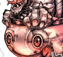 BOMBS AWAY BOWSER Sticker