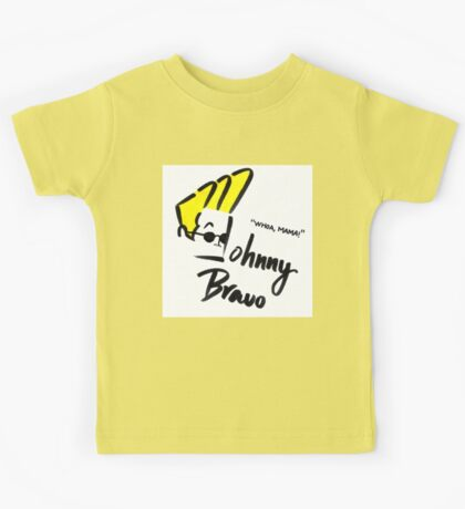 Johnny Bravo Kids Tee