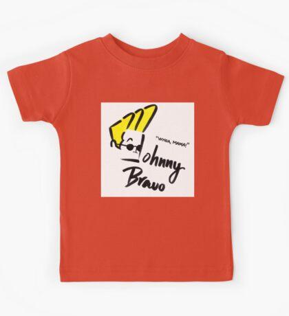 Johnny Bravo Kids Tee