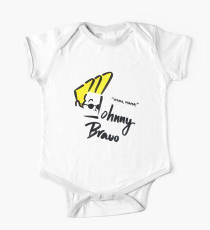 Johnny Bravo One Piece - Short Sleeve