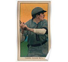 Benjamin K Edwards Collection Joe Tinker Chicago Cubs baseball card portrait 004 Poster