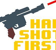 8-bit Han shot first by fukuu