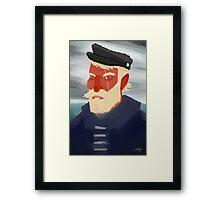 Ahab Framed Print