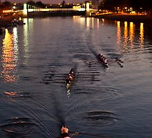 Trent Rowers by Alexander Bampton