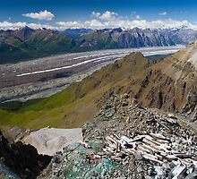 Kennecott Glacier by Walter Quirtmair