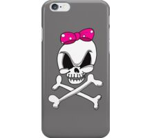 Girls Skull & Crossbones iPhone Case iPhone Case/Skin