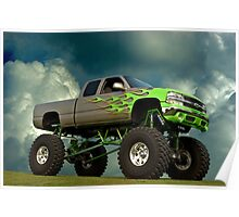 2002 Chevrolet Monster Truck Poster