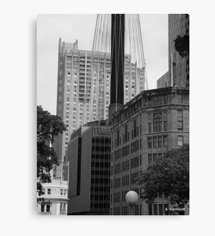 Sydney - Streetscape 2 Canvas Print