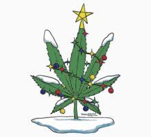 Alternative Holiday Tree Tee T-Shirt