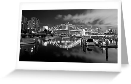 Two Bridges by Mark  Lucey