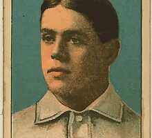Benjamin K Edwards Collection Harry Lumley Brooklyn Superbas baseball card portrait 001 by wetdryvac