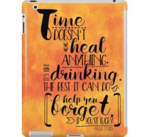 Girl Against the World book quote iPad Case/Skin