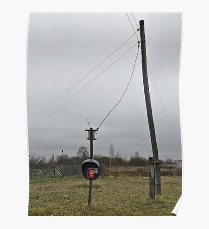 Wireless telephone Poster