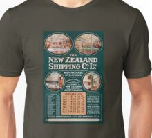 New Zealand Shipping Co. Vintage Poster Unisex T-Shirt