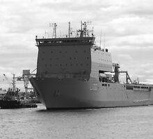 L100 - HMAS Choules by kalaryder