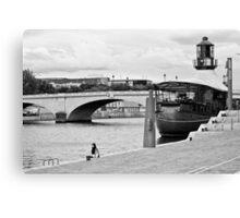 Bords de Seine Canvas Print
