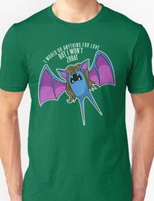 PokéPun - 'But I Won't Zubat' Unisex T-Shirt