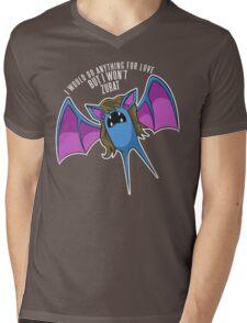PokéPun - 'But I Won't Zubat' Mens V-Neck T-Shirt