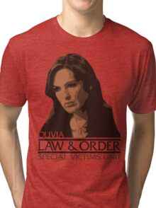 "Olivia ""Liv"" Benson – Special Victims Unit – Law & Order Tri-blend T-Shirt"