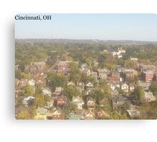 Cincinnati, OH Canvas Print