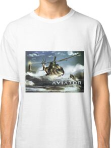 EH-101 Merlin Helicopter Classic T-Shirt