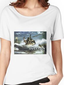 EH-101 Merlin Helicopter Women's Relaxed Fit T-Shirt