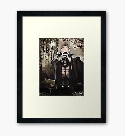 Battle Elf Framed Print
