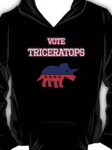 Vote Triceratops T-Shirt