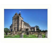 Kirkliston Parish Church Art Print