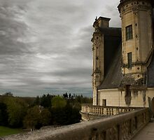 French Castle by Karen  Burgess