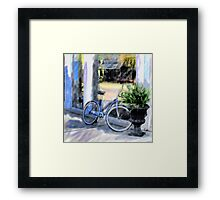Bicycle on Main Framed Print