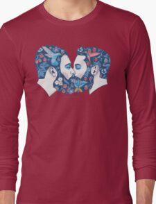Beards in Love Long Sleeve T-Shirt