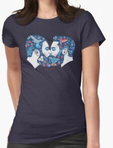 Beards in Love Womens Fitted T-Shirt