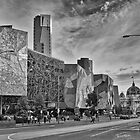 Federation Square, Melbourne by Vicki Moritz