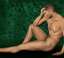 Male Artistic Nude by Walter Colvin