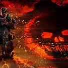 Trial By Fire-GoW3 by DarwinsMishap