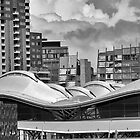 Melbourne rooflines- Southern Cross station by Vicki Moritz