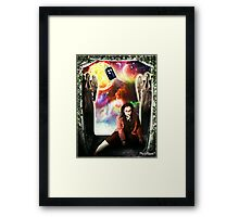 Female Doctor Who Framed Print